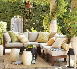 beautiful-greenery-backyard-patio-with-gorgeous-pottery-barn-omaha-ne-seating-area-set-under-ancient-pendant-lamp